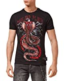 PHILIPP PLEIN Herren T Shirt 'PARTY ALL THE TIME'