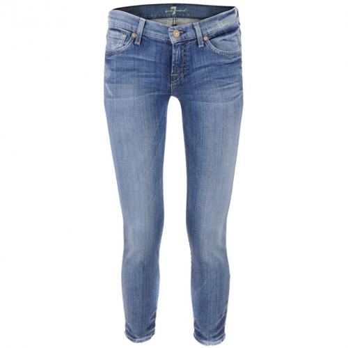 7 for all mankind Blue Jeans Gwenevere Cropped