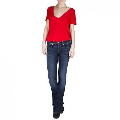 7 For All Mankind - Boot Cut Modell Kaylie Dazzling Drake Farbe Dunkelblau