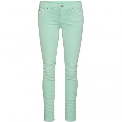 7 for all mankind Damen Coloured-Jeans Gwenevere Grün