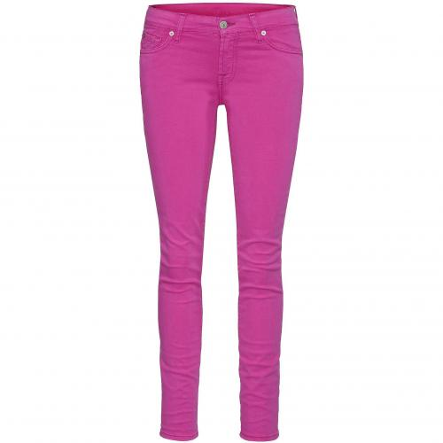 7 for all mankind Damen Coloured-Jeans Gwenevere Pink