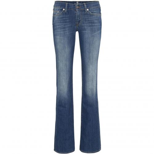 7 for all mankind Damen Jeans Bootcut in Toronto Light