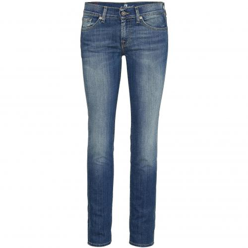 7 for all mankind Damen Jeans Roxanne Crop