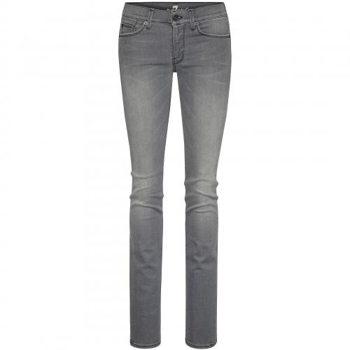 7 for all mankind Damen Jeans Straight Leg in New Toronto Grey