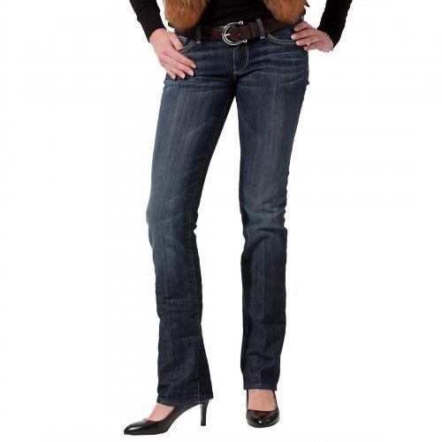 7 for all mankind Damen Jeans Straight Leg in New York Dark
