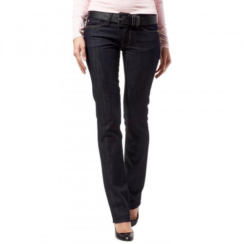7 for all mankind Damen Jeans Straight Leg in Rinse