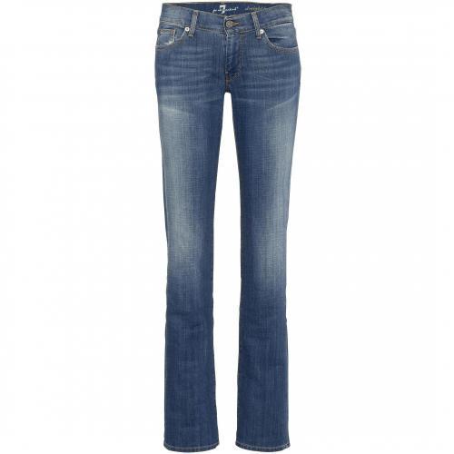 7 for all mankind Damen Jeans Straight Leg in Toronto Light