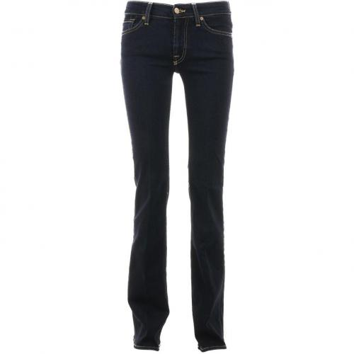 7 for all mankind Dark Skinny Boot Cut Jeans