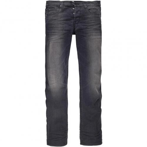 7 for all mankind Herren Jeans Colen Ghost Squiggle Silky Oak