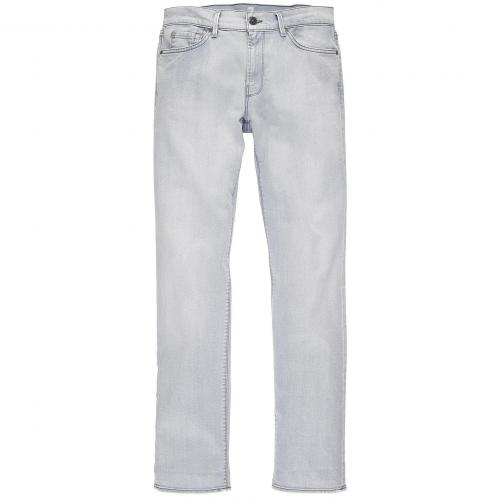 7 for all mankind Herren Jeans Slimmy Grau