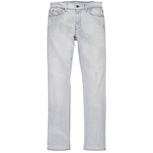 7 for all mankind Herren Jeans Slimmy Grau