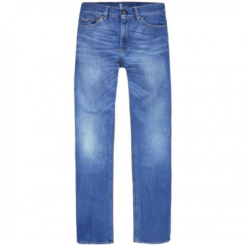 7 for all mankind Herren Jeans Slimmy Mid Blue