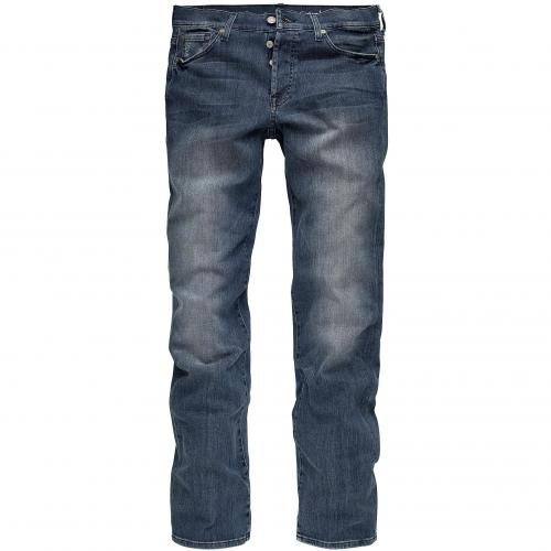 7 for all mankind Herren Jeans Standard Classic Straight Leg Mid Blue