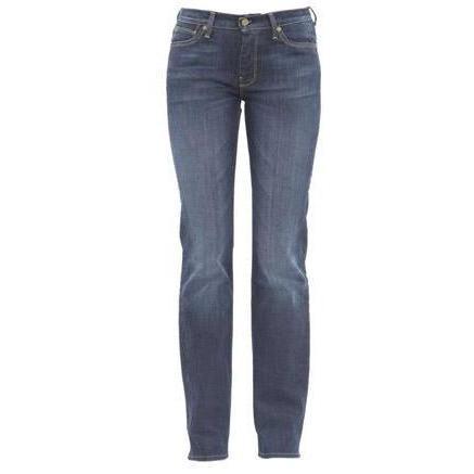 7 For All Mankind - Hüftjeans Modell HW Straight Leg Melissa Fragrance Farbe Blau