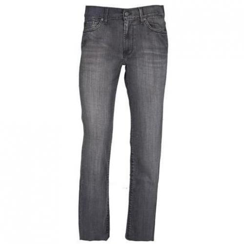 7 For All Mankind - Hüftjeans Slimmy Atlantic Cedar Grau