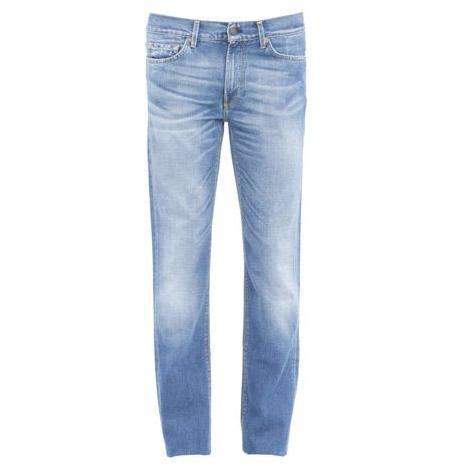 7 For All Mankind - Hüftjeans Slimmy Baltimore Light Blaue Waschung