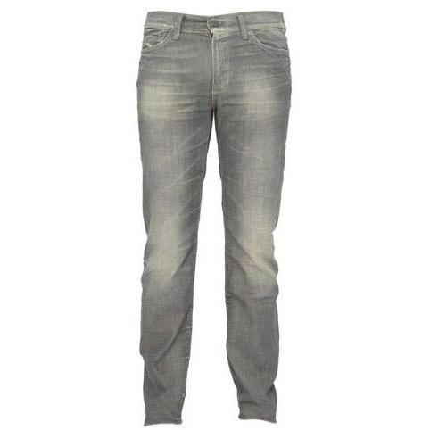 7 For All Mankind - Hüftjeans Slimmy GVE Grau