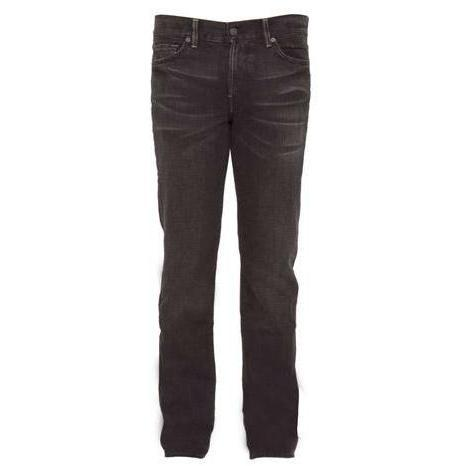 7 For All Mankind - Hüftjeans Slimmy PTSF Schwarz