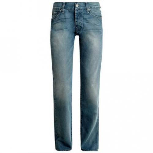 7 For All Mankind - Hüftjeans Standard Mali Water Blaue Waschung