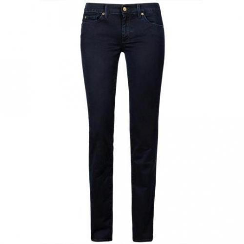 7 For All Mankind - Hüftjeans Modell Straight Leg BB Farbe Dunkelblau