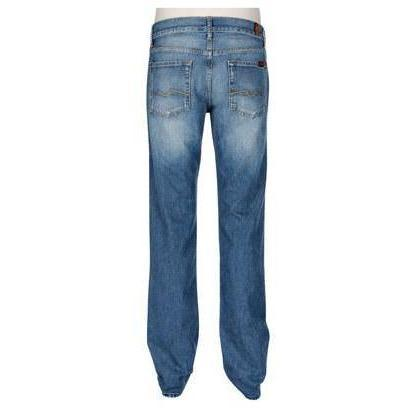 7 For All Mankind Jeans Blau Washed