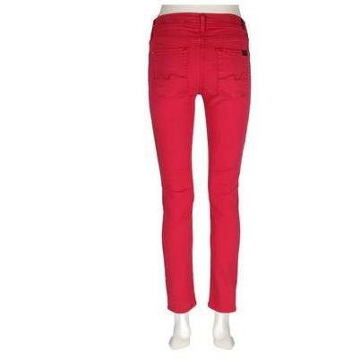 7 For All Mankind Jeans Gwenevere Rot