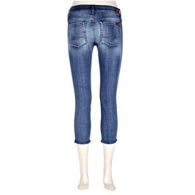 7 For All Mankind Jeans Roxanne Verkürzt