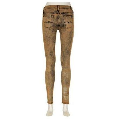 7 For All Mankind Jeans Skinny Braun