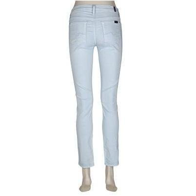 7 For All Mankind Jeans Skinny Hellblau