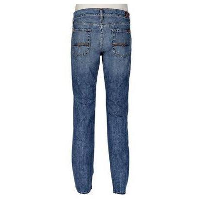 7 For All Mankind Jeans Standard Blau Straight Leg