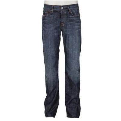 7 For All Mankind Jeans Standard Blau Washed