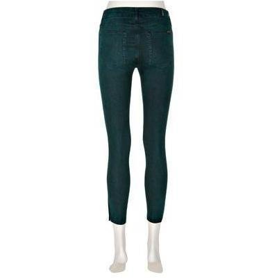 7 For All Mankind Jeans The Tailored Cropped Skinny Grün