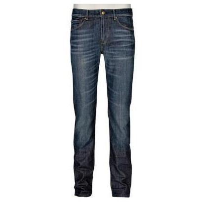 7 For All Mankind Jeans Trey Blau