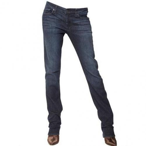 "7 For All Mankind - ""Kimmie"" Denim Stretch Jeans"