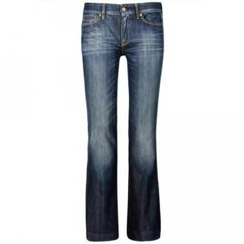7 For All Mankind - Schlaghose Modell Jiselle AY Farbe Blaue Waschung