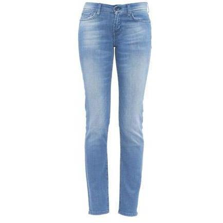 7 For All Mankind - Skinny Modell Gwenevere Brasilian Rose Farbe Blau