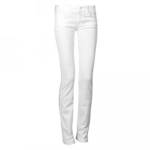 7 For All Mankind - Slim Modell Roxanne Clean White Farbe Weiß