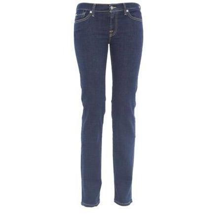 7 For All Mankind - Slim Modell Roxanne Las Vegas Deep Farbe Blau