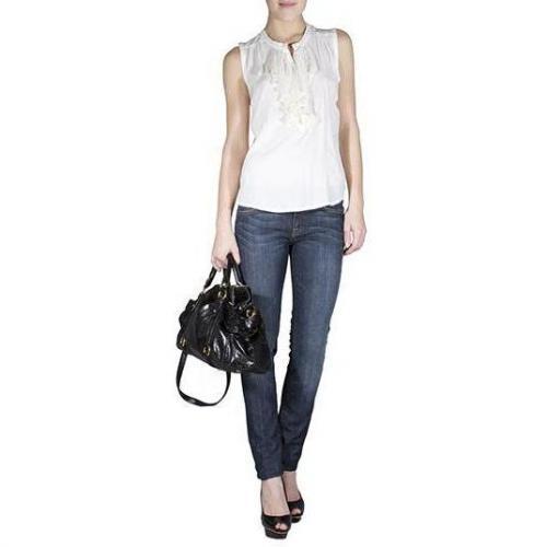 7 For All Mankind - Slim Modell Roxanne New York Dark Farbe Blau