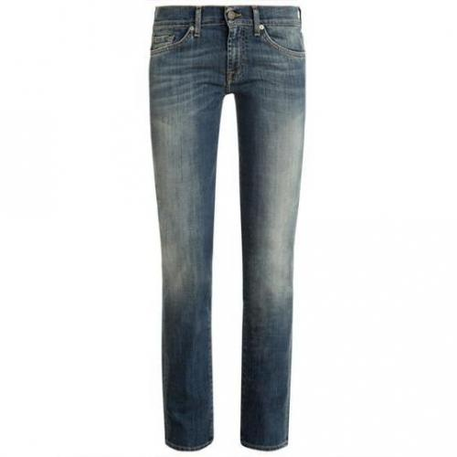 7 For All Mankind - Slim Modell Roxanne Toronto Light Farbe Blaue Waschung