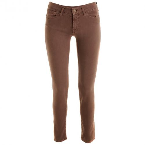 7 for all mankind Taupe Skinny Jeans Gwenevere