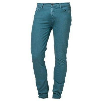 7 for all mankind THE SKINNY Jeans blau