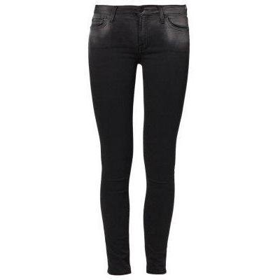 7 for all mankind THE SKINNY Jeans schwarz