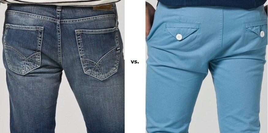 Jeans vs. Chinos – das Hosenbattle: Teil 1