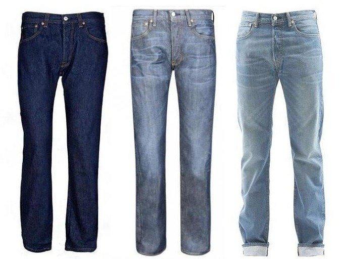 Beliebte Jeans: Levi's 501, Replay Laserblast, Dsquared Kenny Twist