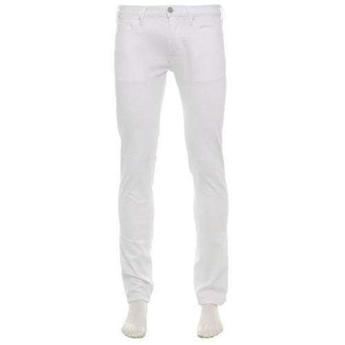 Acne Five Pocket Jeans Max White