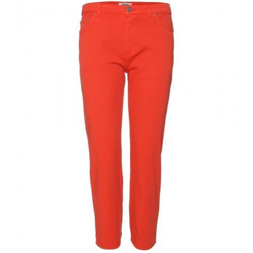 Acne Pop Bright 7/8-Jeans Orange