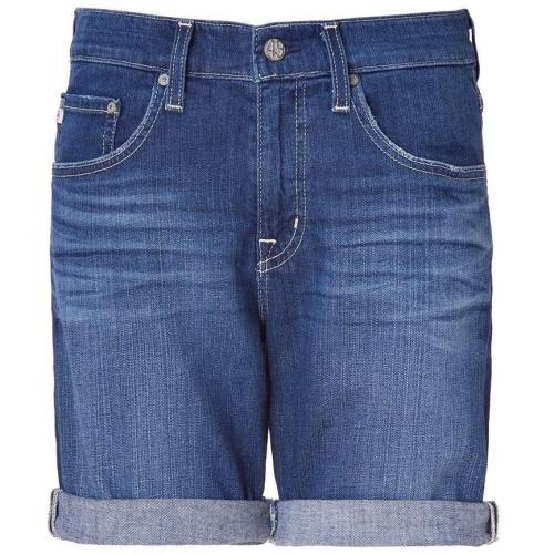 Adriano Goldschmied Blue Denim Ex-Boyfriend Short