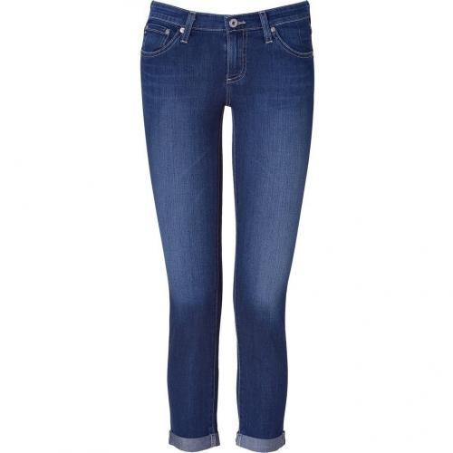 Adriano Goldschmied Blue Denim Stilt Roll Up Jeans