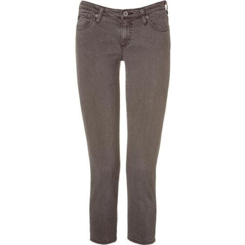 Adriano Goldschmied Brown The Stilt Crop Skinny Jeans
